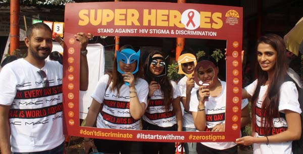 Superheroes Stand Against HIV Stigma