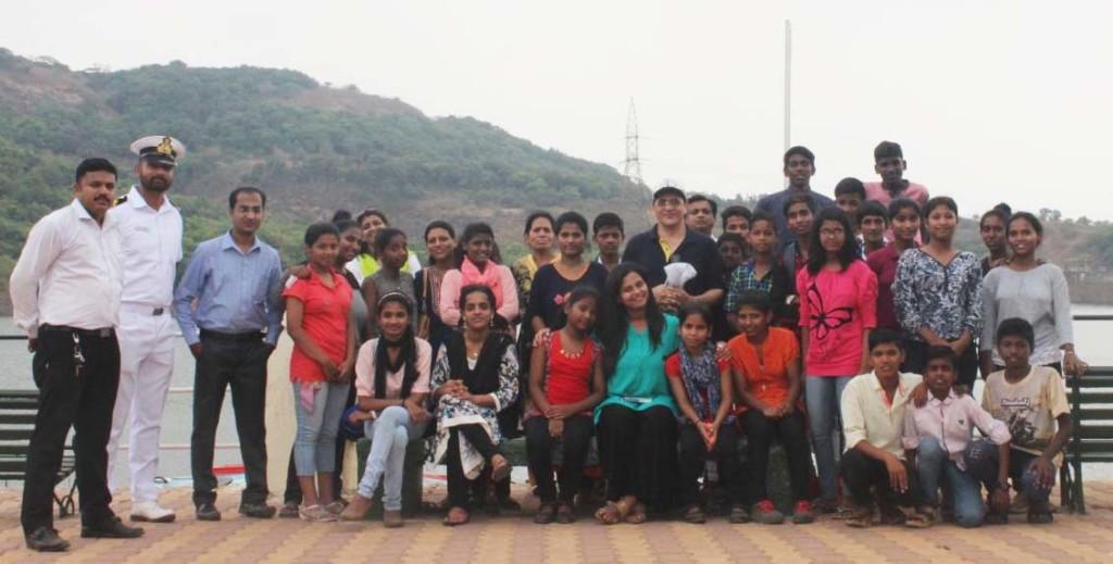 Exposure visit to INS Shivaji