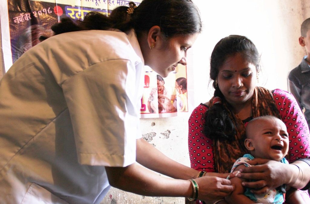 Championing the cause of Immunization